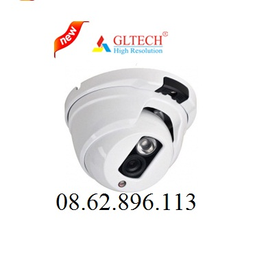 Camera AHD GLTECH  GLP-HD1M ( 1.3MP, Vỏ kim loại )
